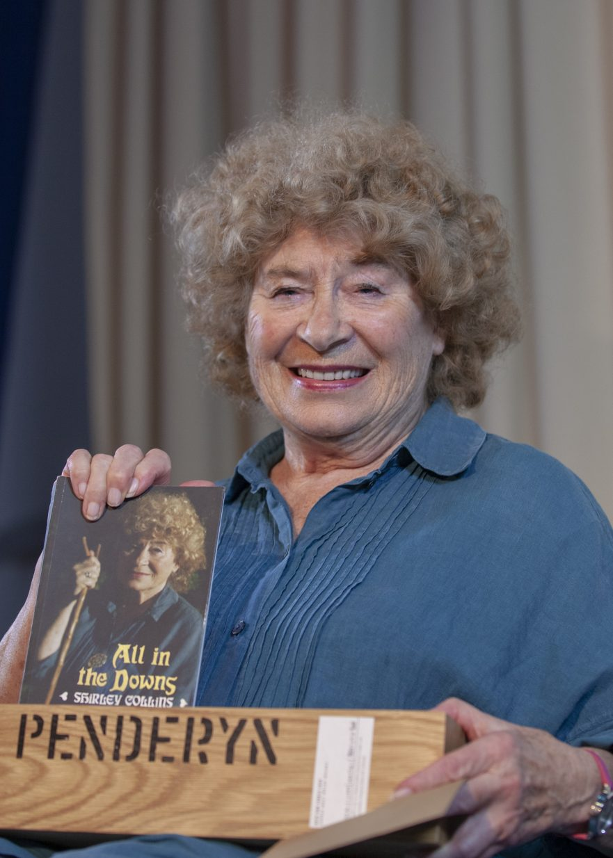 Shirley Collins wins Penderyn Music Book Prize 2019