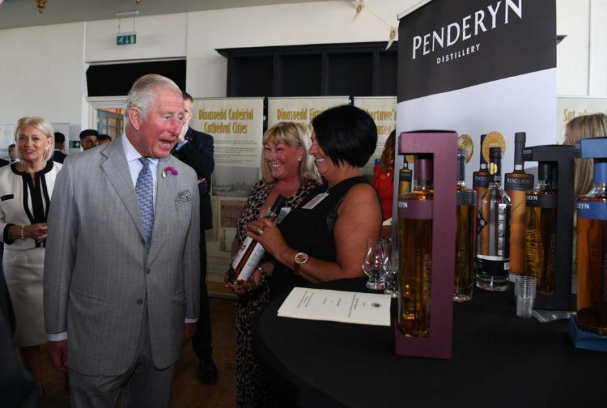Prince Charles and Penderyn