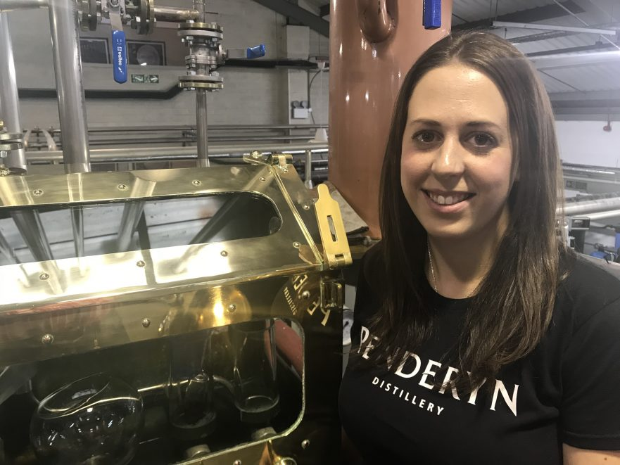 Laura Davies - our Distillery Manager