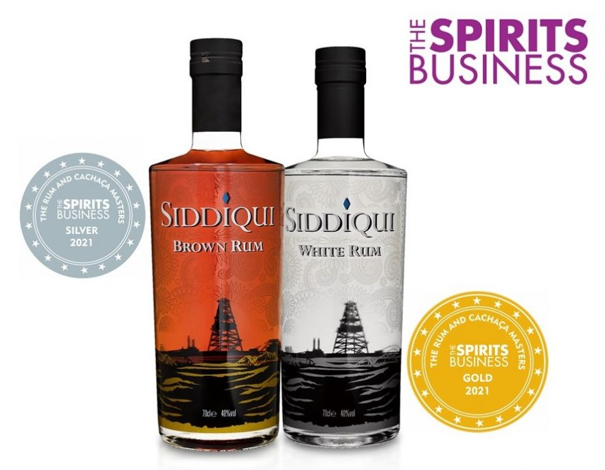 Siddiqui Spirits Business Rum 2021 Awards